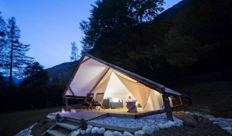 Eco Camp Canyon - Open Air Hostel Soca - Search for free rooms and guaranteed low rates in Bovec 22 photos