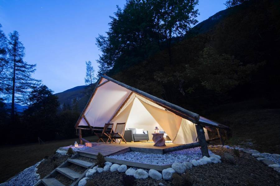 Eco Camp Canyon - Open Air Hostel Soca, Bovec, Slovenia, Slovenia bed and breakfasts and hotels