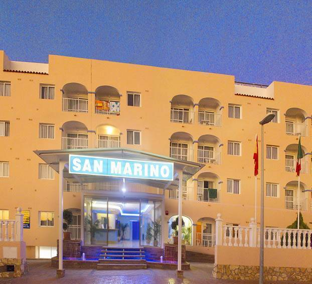 Club San Marino, Ibiza, Spain, fantastic hostels in Ibiza