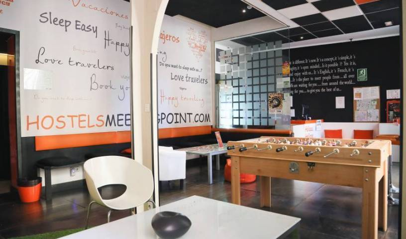 Hostels MeetingPoint - Search for free rooms and guaranteed low rates in Madrid 41 photos