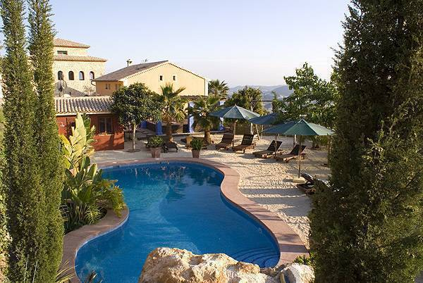 Finca El Tossal, Altea, Spain, Beste appartementen en aparte bed & Ontbijt in de stad in Altea
