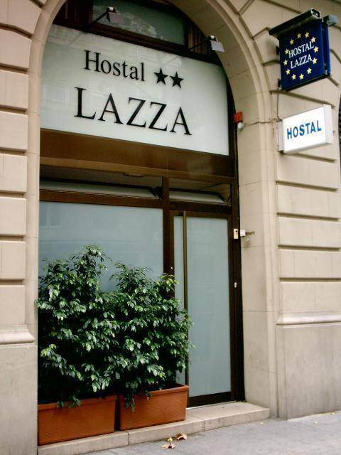Hostal Lazza, Barcelona, Spain, Spain hostels and hotels