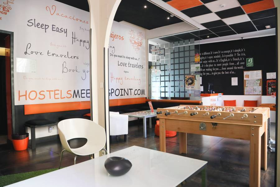 Hostels MeetingPoint, Madrid, Spain, Spain hostels and hotels