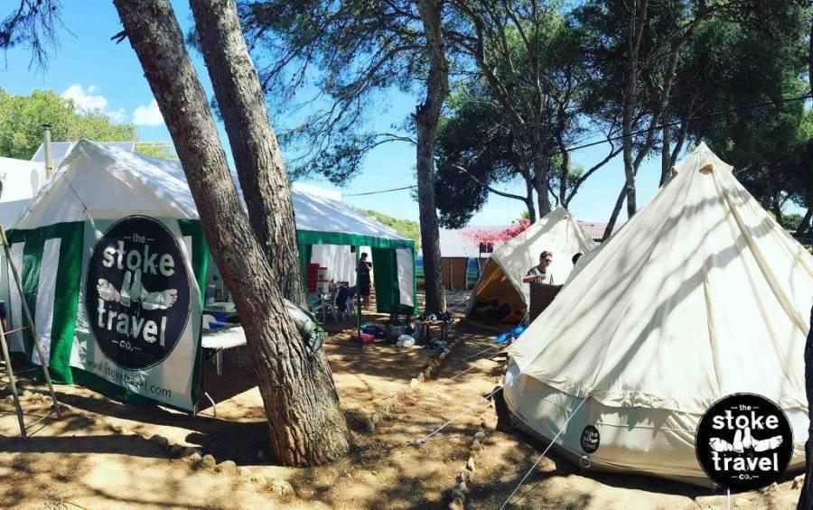 Ibiza Beach Camp, Ibiza, Spain, vacations and hostels in Ibiza