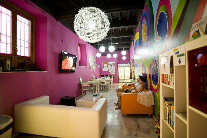 White Nest Hostel, Granada, Spain, lowest official prices, read review, write reviews in Granada