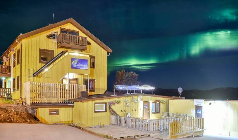 Abisko Guesthouse, budget travel 2 photos