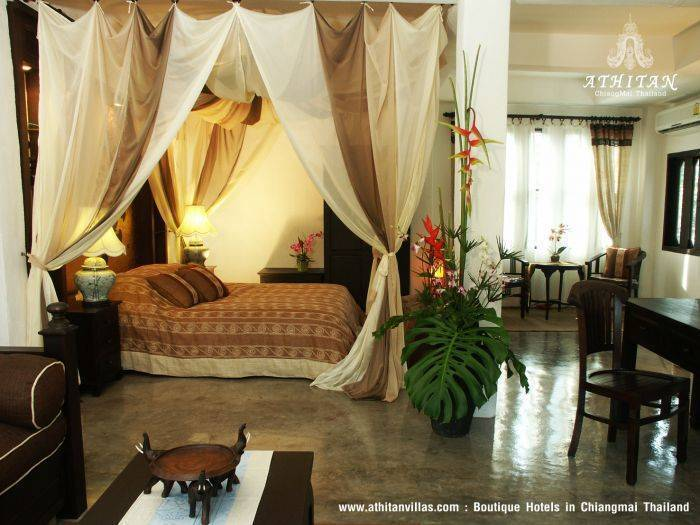 Athitan Villas, Chiang Mai, Thailand, youth hostels with air conditioning in Chiang Mai