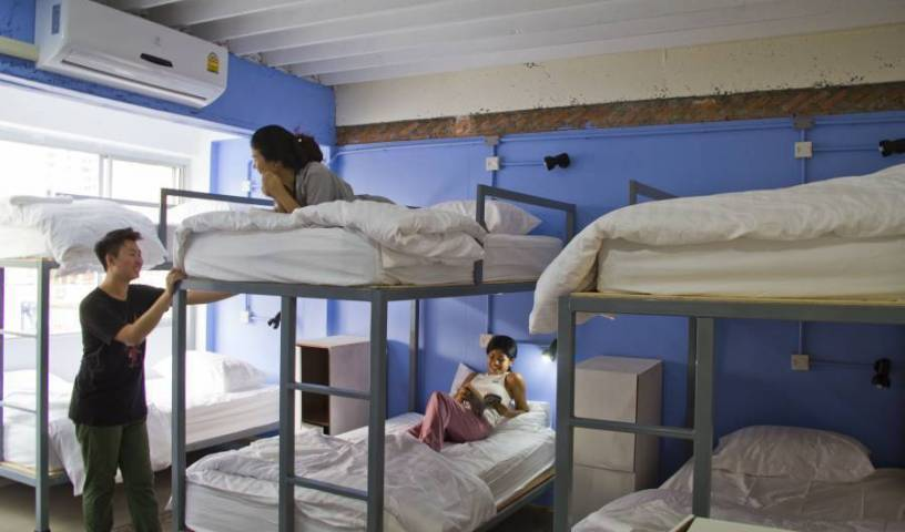 Fun Wan Hostel Bangkok - Search available rooms and beds for hostel and hotel reservations in Bangkok 26 photos