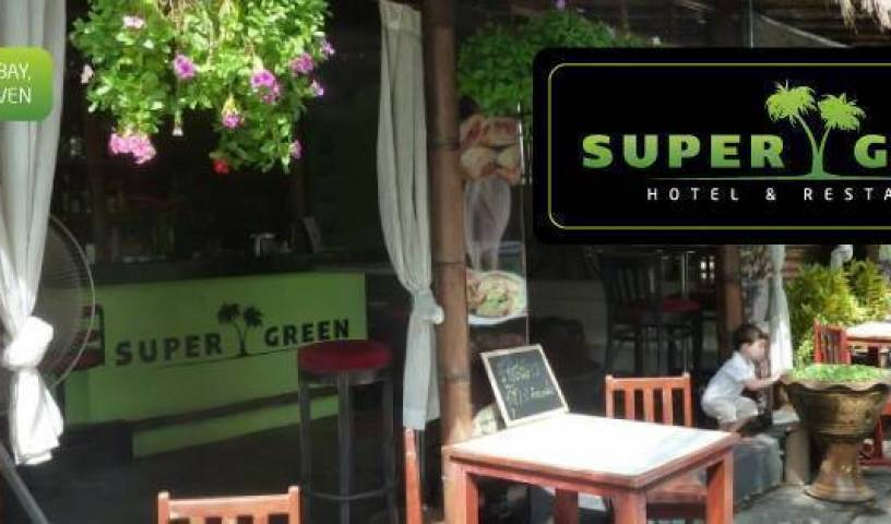 Super Green Hotel Bar Restaurant - Search available rooms and beds for hostel and hotel reservations in Ban Chalong, hostel bookings at last minute 28 photos