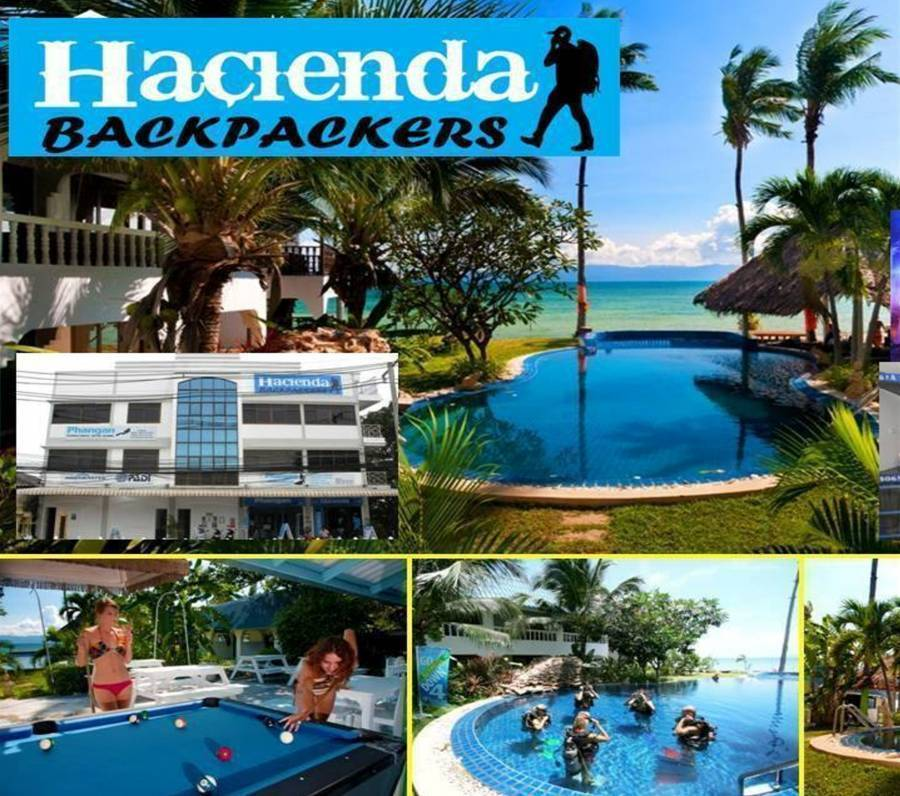 Hacienda Backpackers, Ko Phangan, Thailand, Thailand hostels and hotels