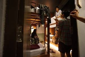 Loftel 22 Hostel, Bangkok, Thailand, live like a local while staying at a bed & breakfast in Bangkok