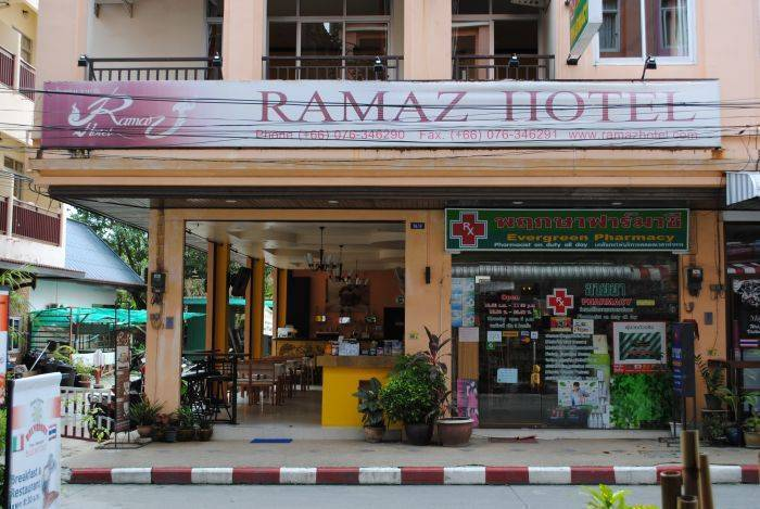 Ramaz Hotel, Patong Beach, Thailand, Thailand hostels and hotels