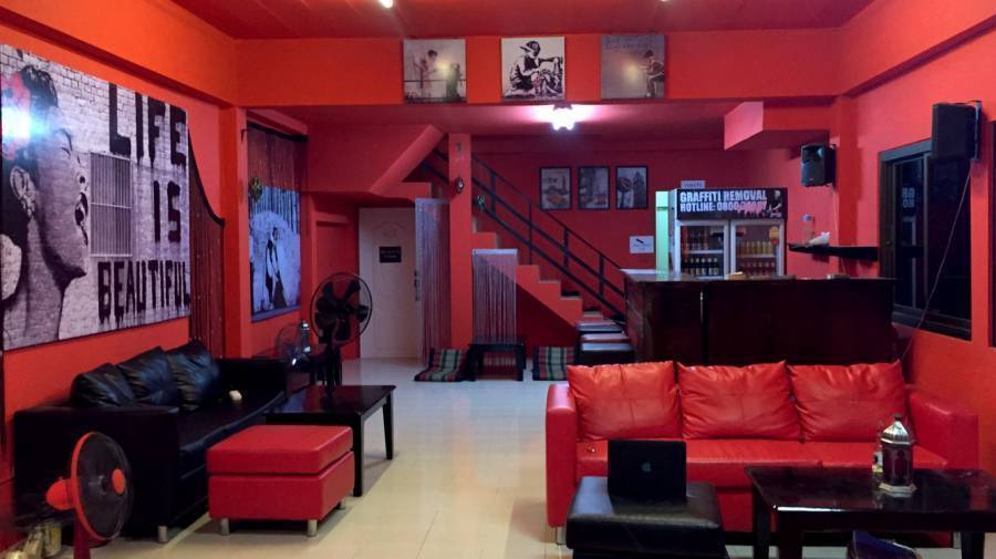 Red Boutique Hostel, Ko Phangan, Thailand, Thailand hostels and hotels