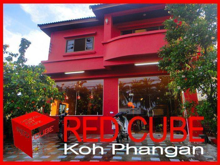 Red Cube, Ko Phangan, Thailand, budget holidays in Ko Phangan