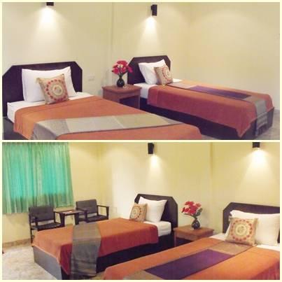 Saithai Garden Home Villa, Ao Nang, Thailand, book hostels and backpackers now with IWBmob in Ao Nang