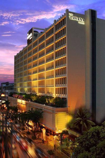 The Tawana Bangkok, Bangkok, Thailand, Thailand hostels and hotels