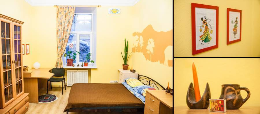 Tiu Kreschatik Hostel, Kiev, Ukraine, bed & breakfasts with air conditioning in Kiev