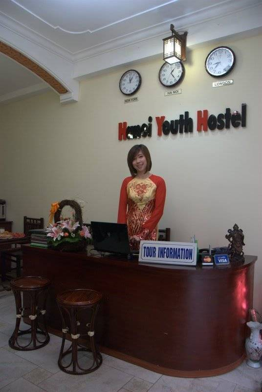 Hanoi Youth Hostel, Ha Noi, Viet Nam, backpackers gear and staying in cheap hotels or budget hostels in Ha Noi