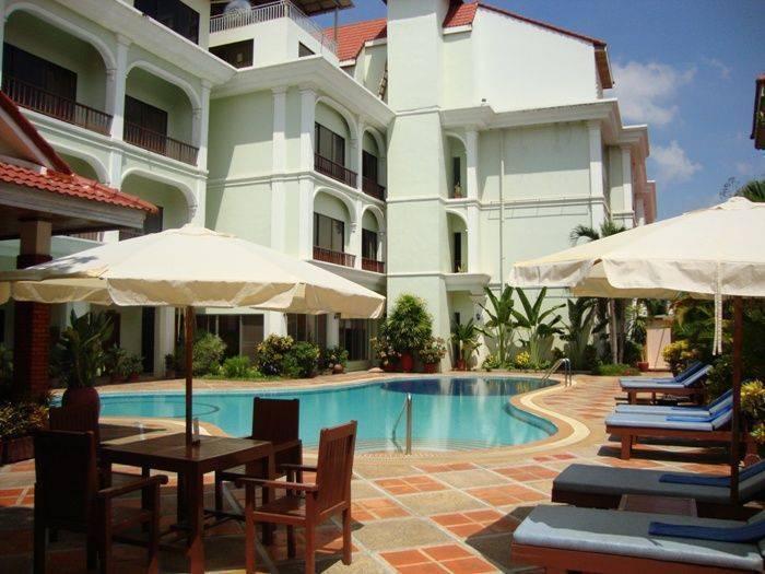 Angkor Way Hotel, Siem Reap, Cambodia, Cambodia 침대와 아침 식사와 호텔