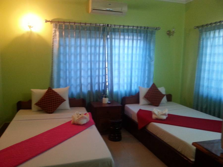 Ta Som Guesthouse and Tour Services, Siem Reap, Cambodia, Cambodia 침대와 아침 식사와 호텔