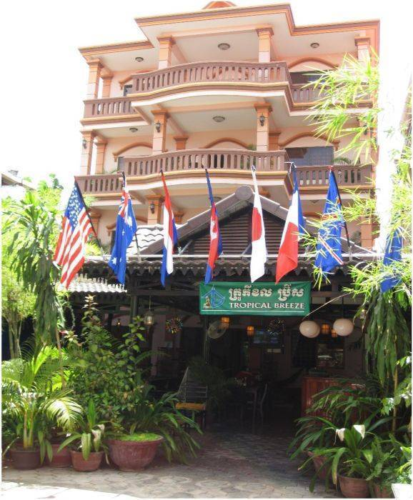 Tropical Breeze Guesthouse, Siem Reap, Cambodia, Cambodia hostela i hotela