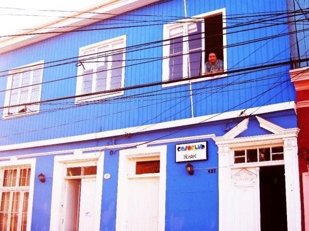 Casaclub Hostel, Valparaiso, Chile, Chile hostels and hotels