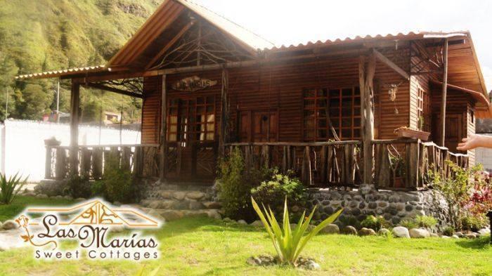 Cabanas Las Marias, Banos, Ecuador, Ecuador hostels and hotels