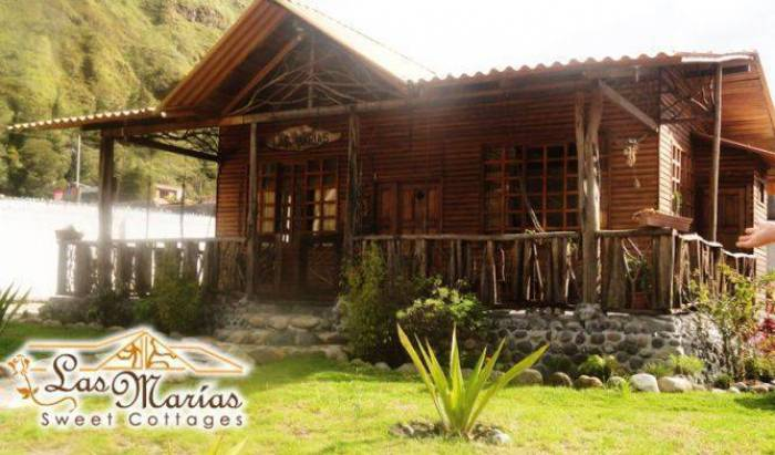 Cabanas Las Marias - Get cheap hostel rates and check availability in Banos 9 photos