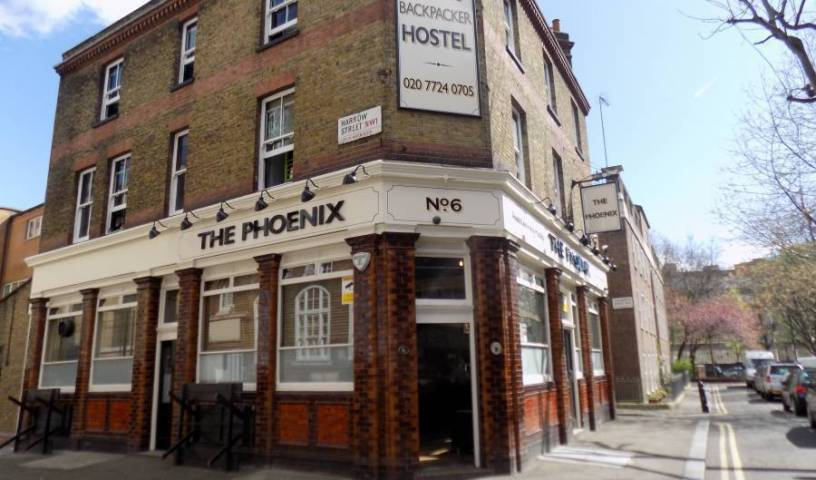 Phoenix Hostel - Search for free rooms and guaranteed low rates in London, backpacker hostel 4 photos