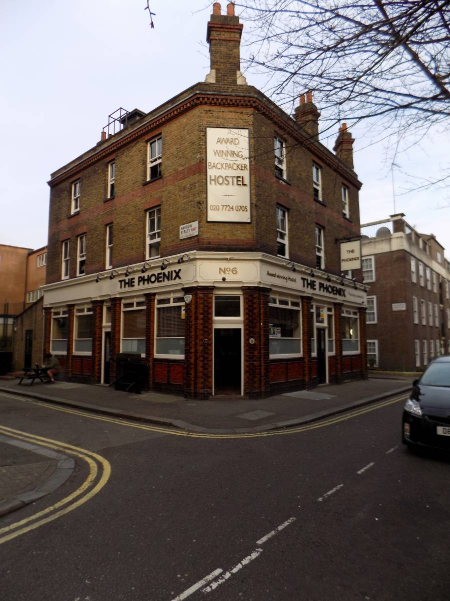 The Phoenix Hostel, North West London, England, England hostels and hotels