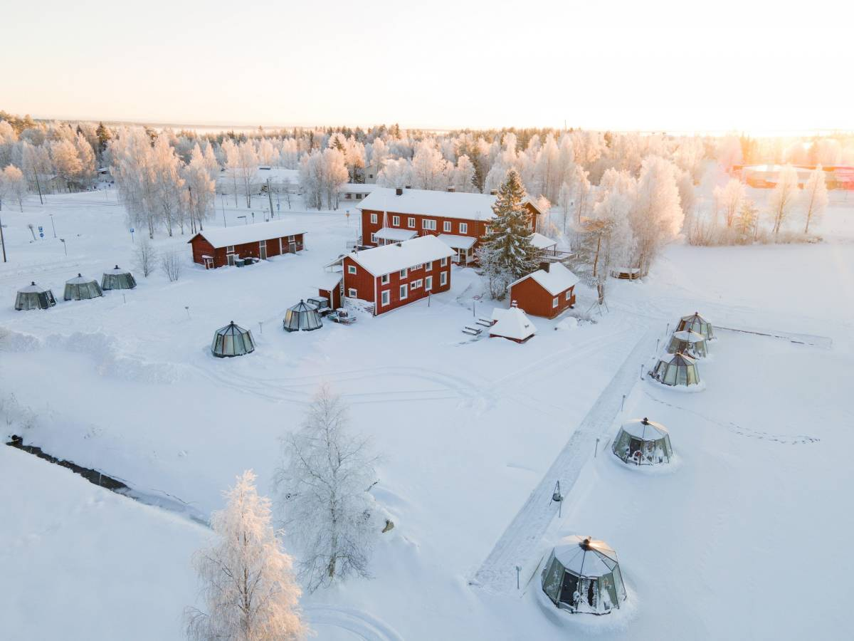 Arctic Guesthouse and Igloos, Ranua, Finland, Finland hostels and hotels