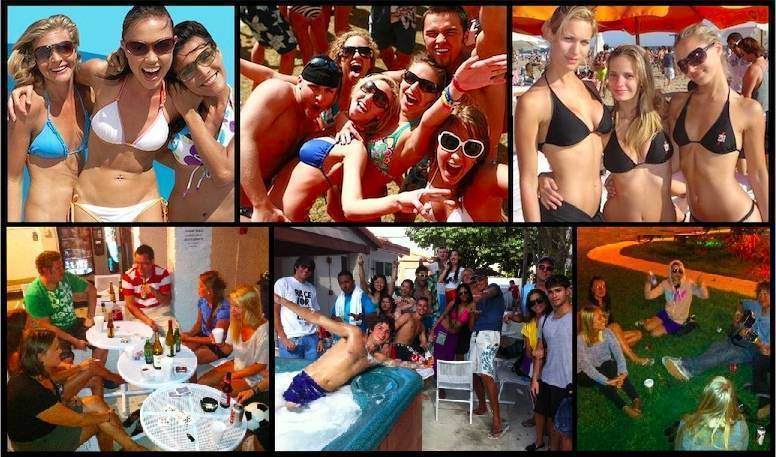 Bikini Hostel Cafe and Beer Garden, Miami Beach, Florida, adult vacations and destinations in Miami Beach