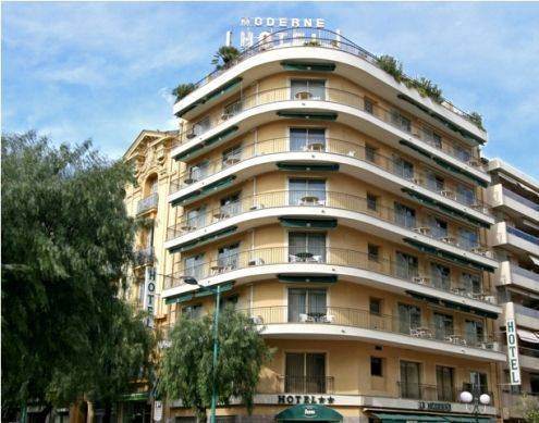 Hotel Moderne, Menton, France, France bed and breakfasts and hotels