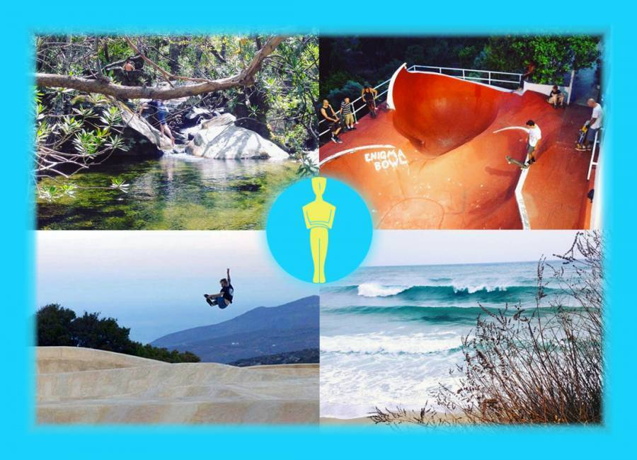 Bluenigma Riding Hotel, Andros, Greece, Greece hostels and hotels