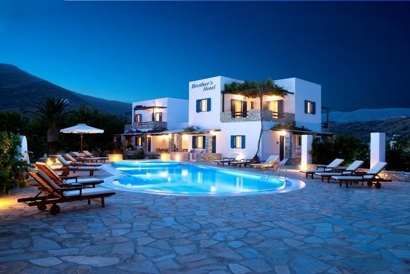 Brother's Hotel, Ios, Greece, Greece hostels and hotels