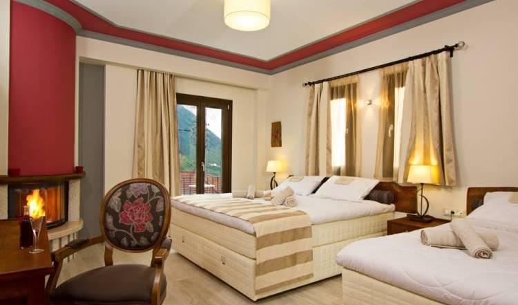 Hotel Rodovoli - Get cheap hostel rates and check availability in Konitsa 8 photos