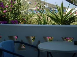 Galini Pension, Ios, Greece, hostels and places to visit for antiques and antique fairs in Ios