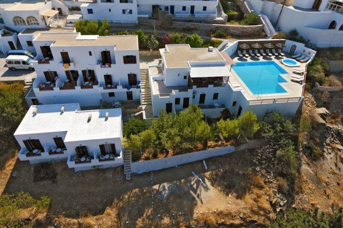 Golden Sun Hotel, Ios, Greece, Greece hostels and hotels