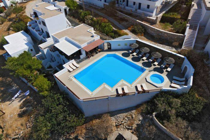 Golden Sun Hotel, Ios, Greece, international travel trends in Ios