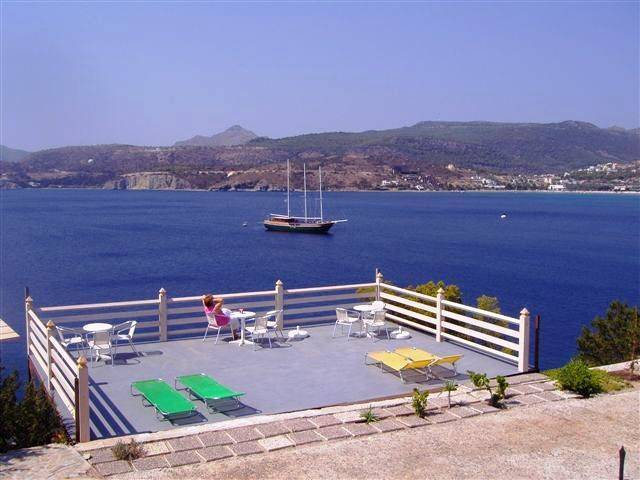Kavos Bay Seafront Hotel, Aegina, Greece, youth hostel and backpackers hostel world best places to stay in Aegina