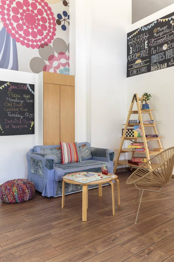 Stay Hostel Rhodes, Rodos, Greece, what is a green hostel in Rodos
