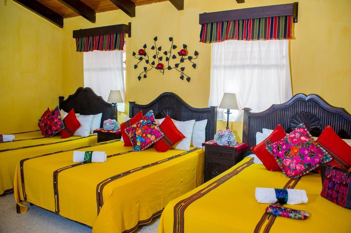 Hotel Casa Rustica, Antigua Guatemala, Guatemala, hostels with rooftop bars and dining in Antigua Guatemala