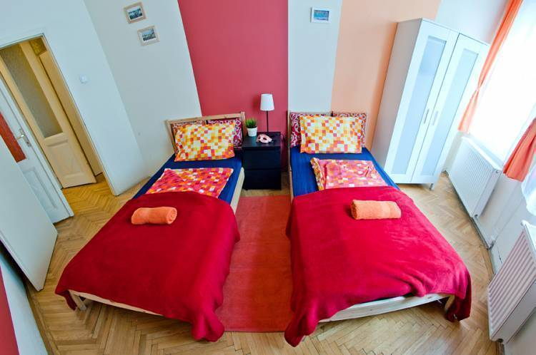 Animation City Hostel, Budapest, Hungary, long term rentals at bed & breakfasts or apartments in Budapest