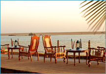 Estuary Island Resort, Kovalam, India, secure online reservations in Kovalam