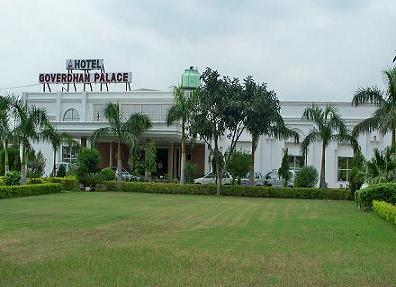 Hotel Goverdhan Palace, Mathura, India, low cost lodging in Mathura