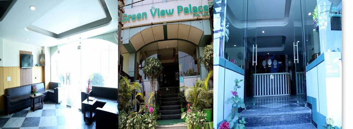 Hotel Green View Palace, Noida, Uttar Pradesh, India, India hostels and hotels