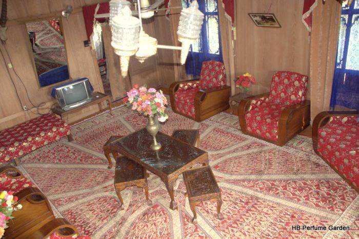 New Perfume Garden Houseboat, Srinagar, India, India bed and breakfasts and hotels