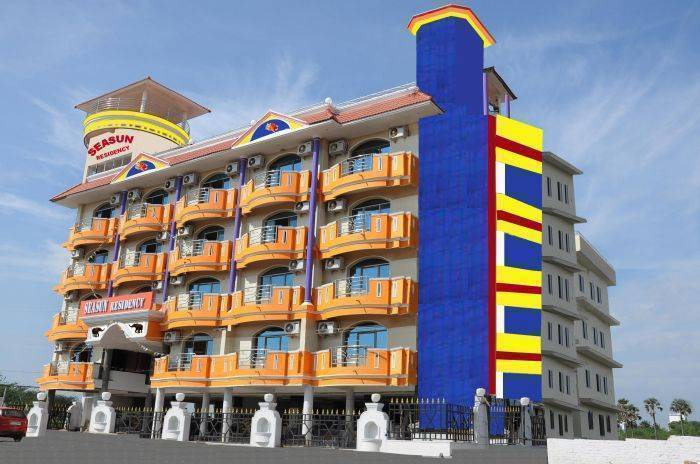 Sea Sun Residency, Kanniyakumari, India, India bed and breakfasts and hotels