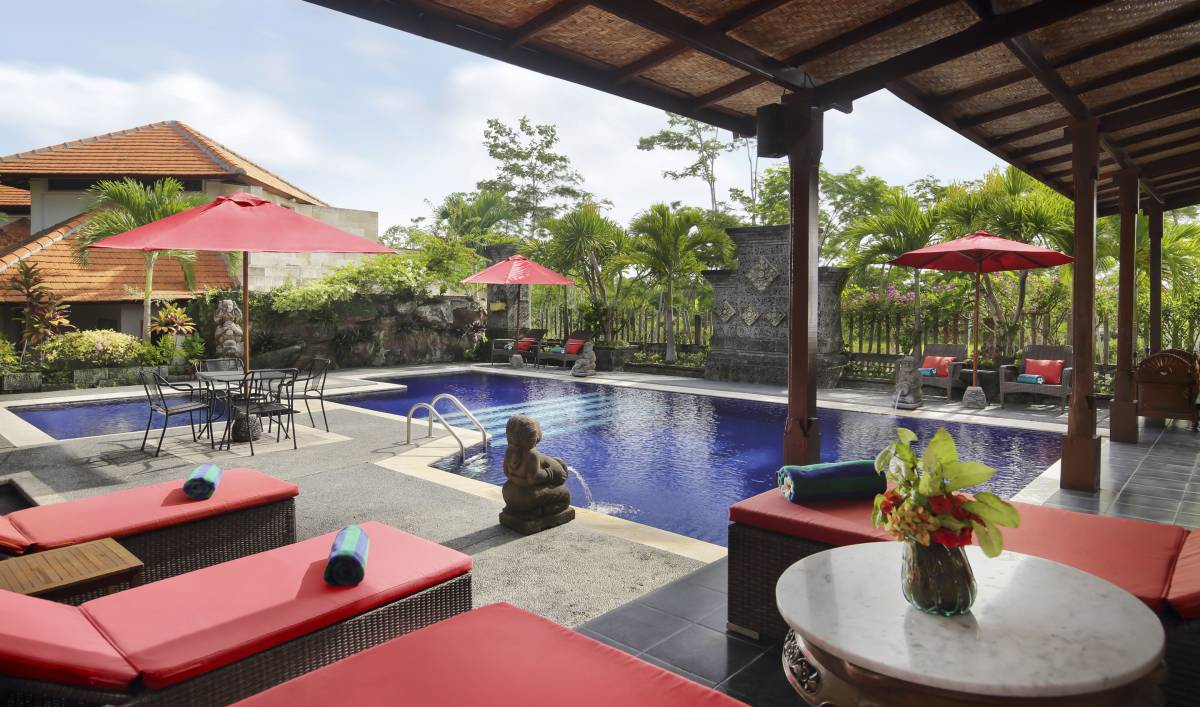 Taman Harum Hotel, Ubud, Indonesia, hostels with culinary classes in Ubud