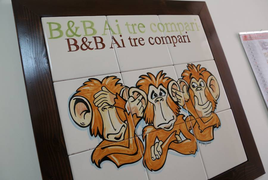 BB Ai Tre Compari, Palermo, Italy, Italy bed and breakfasts and hotels